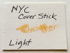 NYC Cover Stick LIGHT swatch