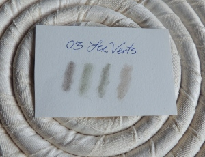 Les Verts swatches
