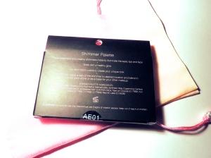 elf Shimmer Palette box