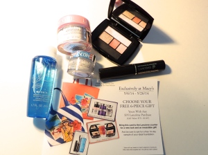 Lancome Gift with Purchase Macy's 5.14